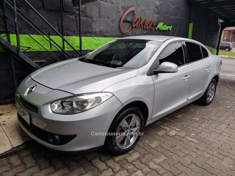 fluence 2.0 dynamique plus 16v flex 4p automatico 2013 caxias do sul