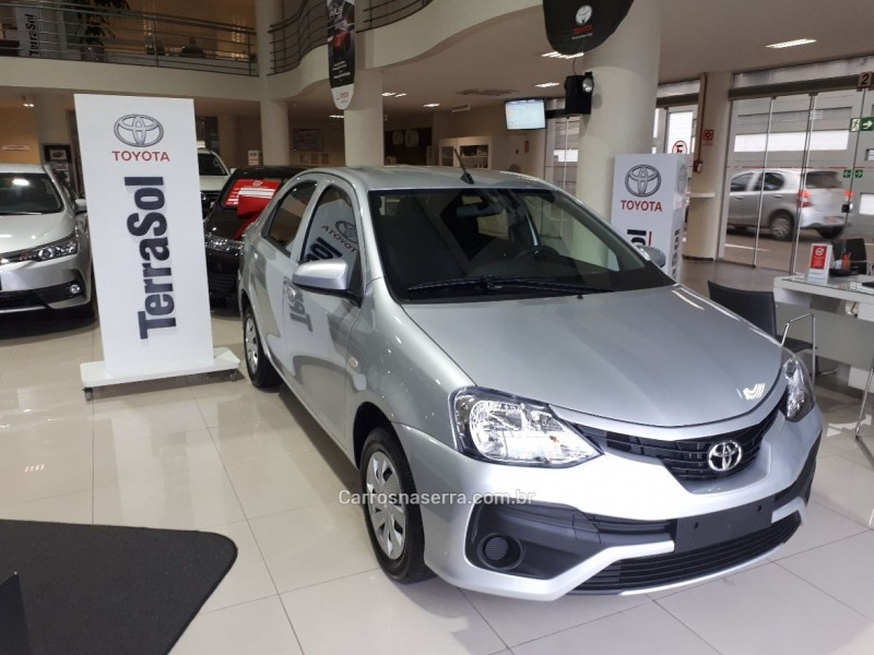 etios 1.5 x sedan 16v flex 4p automatico 2018 caxias do sul