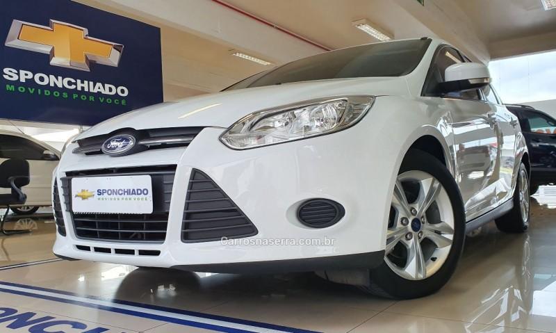 focus 1.6 s hatch 16v flex 4p automatico 2014 caxias do sul