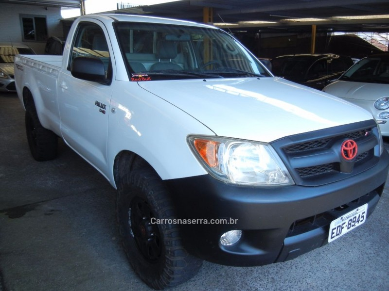 hilux 2.5 4x4 cs chassi cabine 16v turbo diesel 2p manual 2008 caxias do sul