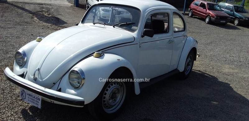 fusca 1.3 l 8v gasolina 2p manual 1980 canela