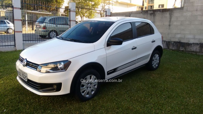 gol 1.0 mi track 8v flex 4p manual 2014 caxias do sul