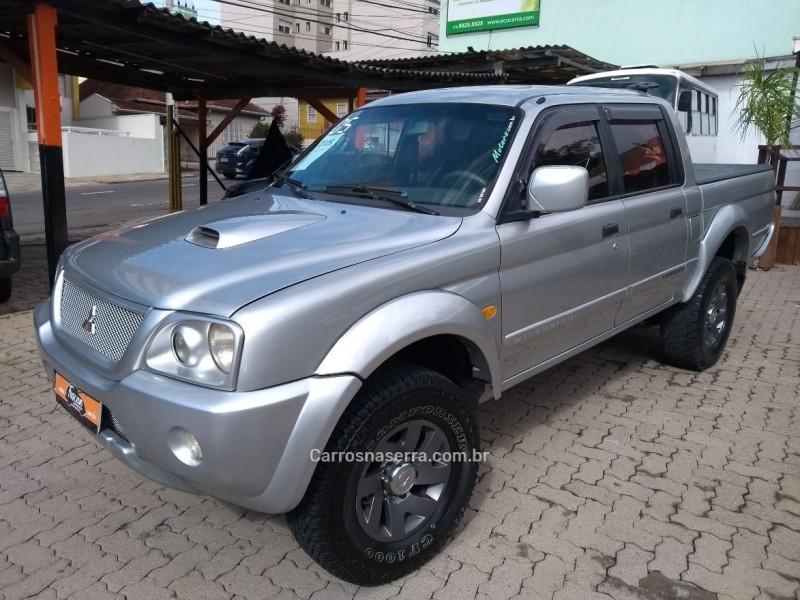 l200 2.5 sport hpe 4x4 cd 8v turbo intercooler diesel 4p manual 2005 caxias do sul