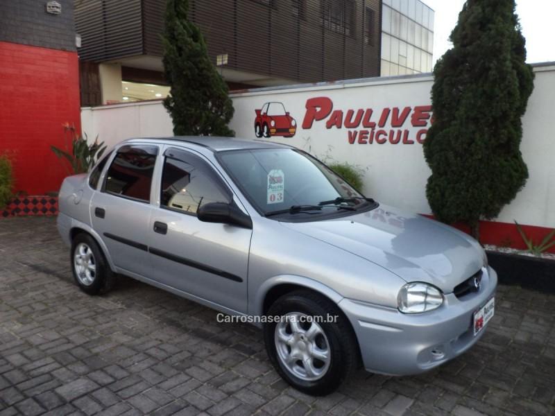 corsa 1.6 mpfi classic sedan 8v gasolina 4p manual 2003 caxias do sul