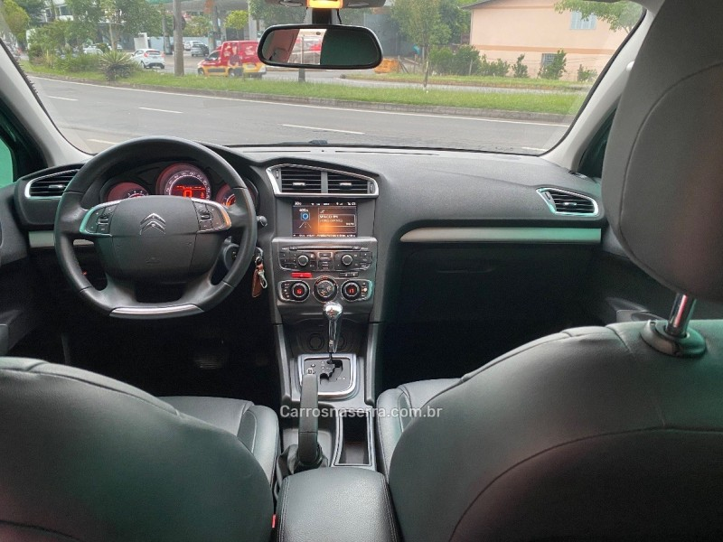 c4 lounge 1.6 tendance 16v turbo gasolina 4p automatico 2015 caxias do sul