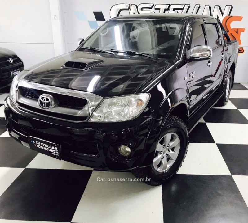 hilux 3.0 srv 4x4 cd 16v turbo intercooler diesel 4p automatico 2009 caxias do sul