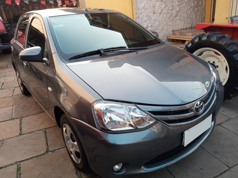 ETIOS 1.3 X 16V FLEX 4P MANUAL - 2016 - BENTO GONçALVES