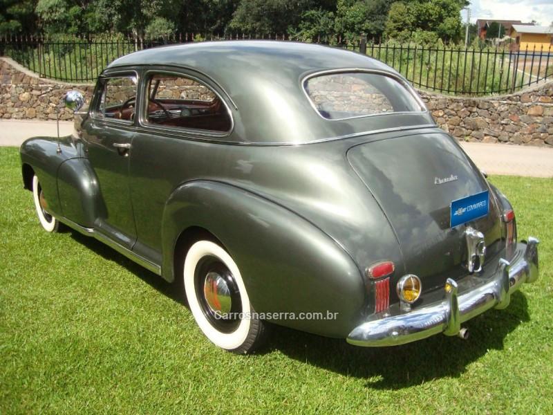 DE LUXE 3.5 6 CILINDROS 12V GASOLINA 4P MANUAL - 1947 - SãO MARCOS