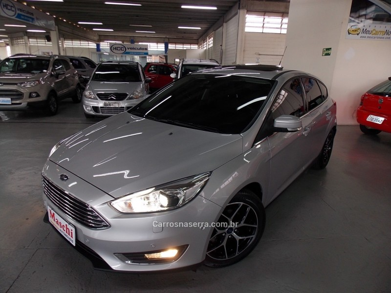 focus 2.0 titanium plus hatch 16v flex 4p auto 2016 caxias do sul