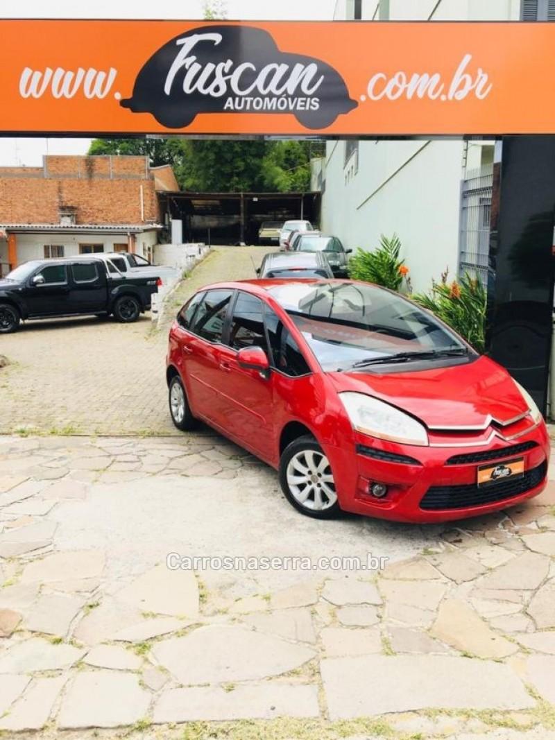 c4 picasso 2.0 16v gasolina 4p automatico 2009 caxias do sul