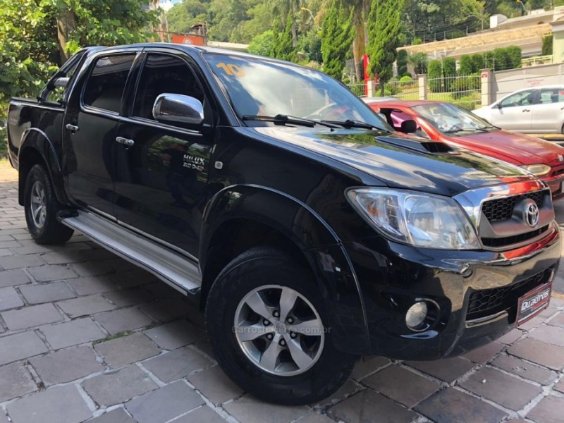 hilux 3.0 srv top 4x4 cd 16v turbo intercooler diesel 4p automatico 2010 caxias do sul