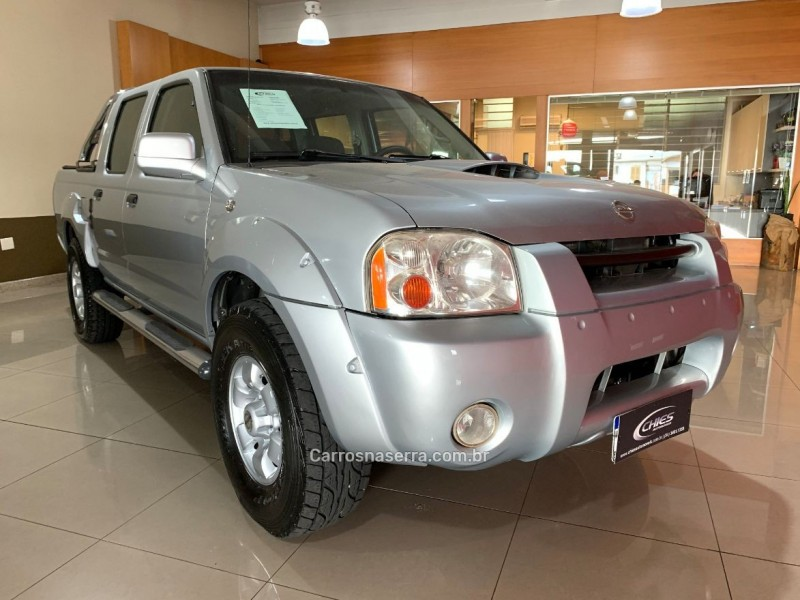 frontier 2.8 se 4x4 cd turbo diesel 4p manual 2004 carlos barbosa