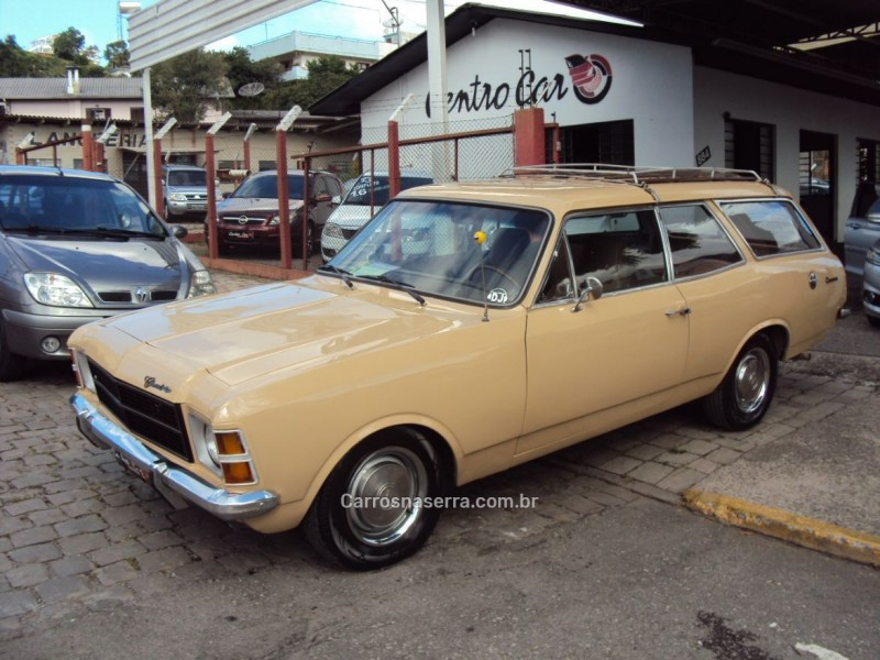 caravan 2.5 l 8v gasolina 2p manual 1979 caxias do sul