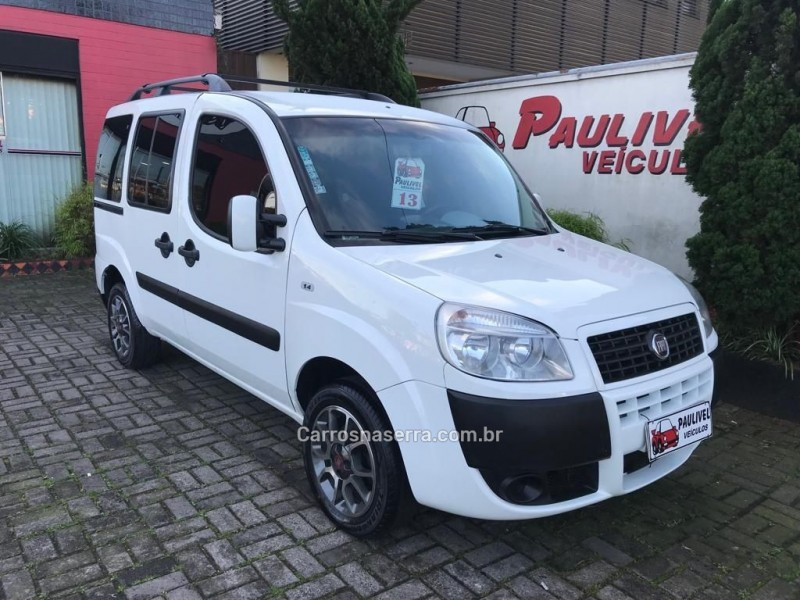 doblo 1.4 mpi attractive 8v flex 4p manual 2013 caxias do sul