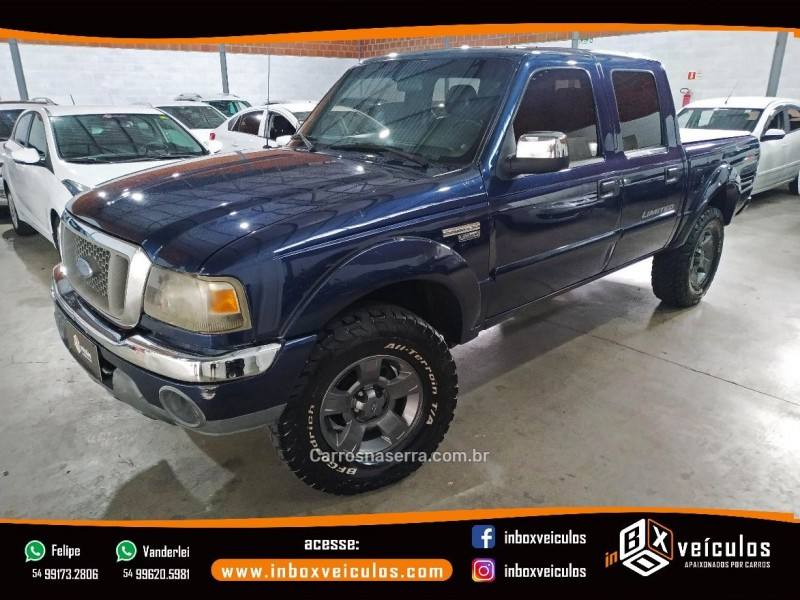 ranger 3.0 limited 4x4 cd 16v turbo eletronic diesel 4p manual 2005 gramado