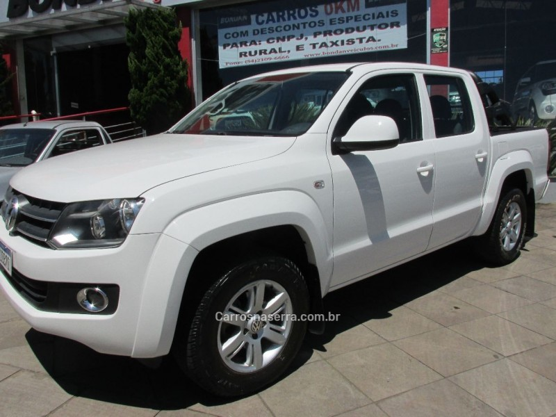 amarok 2.0 trendline 4x4 cd 16v turbo intercooler diesel 4p manual 2012 farroupilha