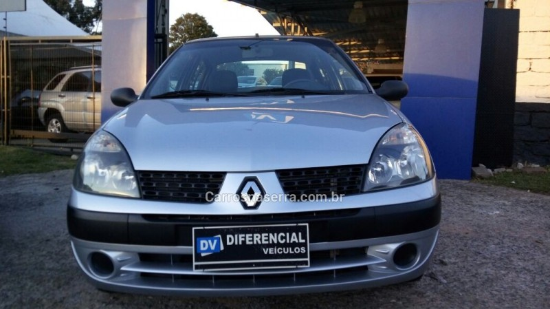 clio 1.0 authentique 16v gasolina 4p manual 2005 caxias do sul