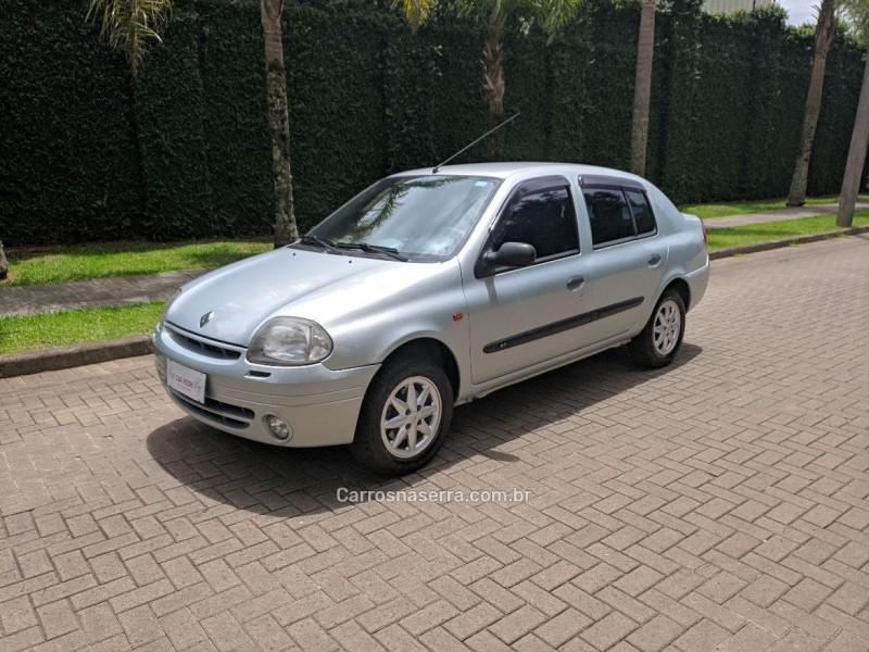 clio 1.6 rt 16v gasolina 4p manual 2001 caxias do sul