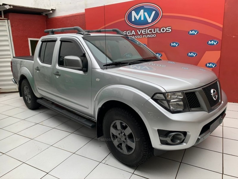 frontier 2.5 sv attack 4x2 cd turbo eletronic diesel 4p manual 2014 passo fundo