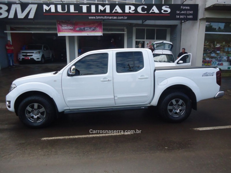 frontier 2.5 platinum 4x4 cd turbo eletronic diesel 4p automatico 2014 guapore