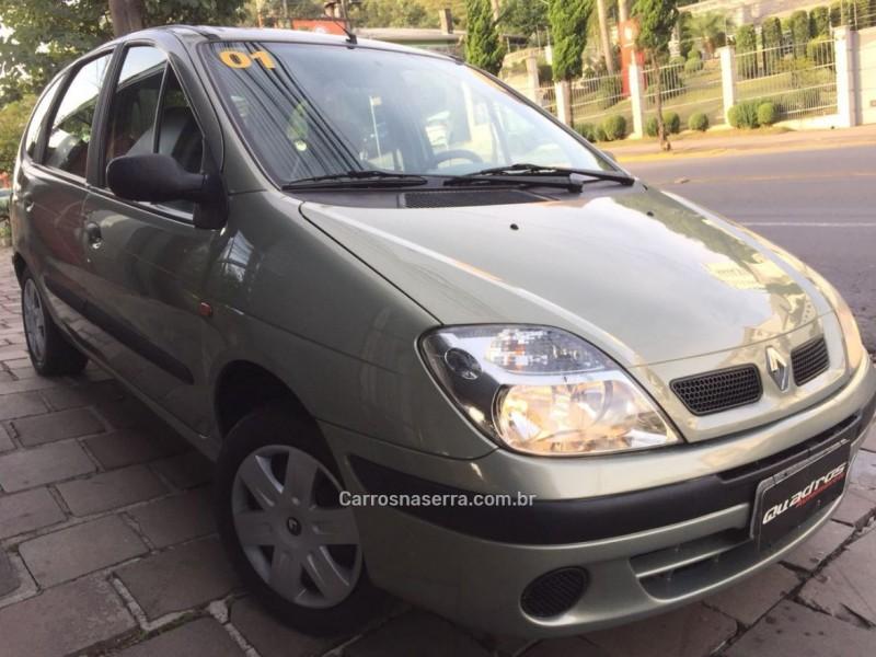 scenic 1.6 expression 16v gasolina 4p manual 2001 caxias do sul