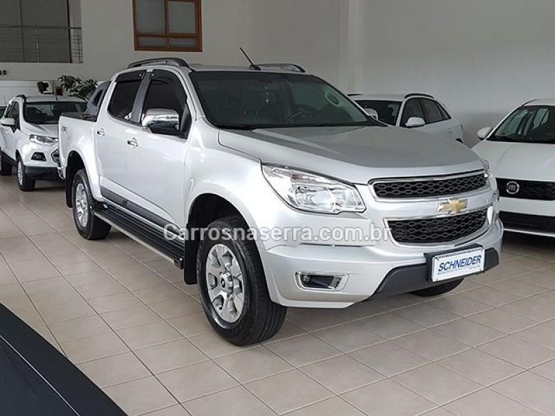 s10 2.8 ltz 4x4 cd 16v turbo diesel 4p automatico 2016 nova petropolis