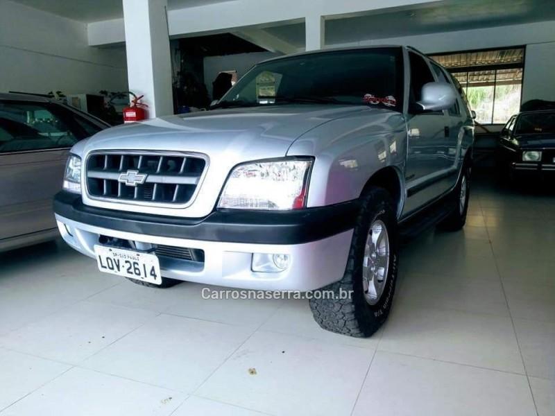 blazer 2.8 dlx 4x4 12v turbo intercooler diesel 4p manual 2003 farroupilha