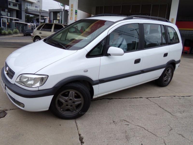 zafira 2.0 mpfi 16v gasolina 4p manual 2001 caxias do sul