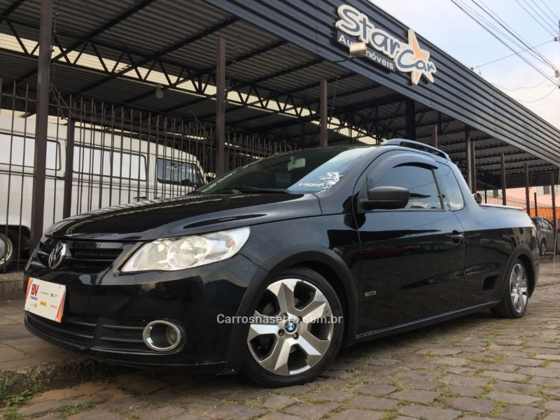 saveiro 1.6 mi ce 8v flex 2p manual g.v 2010 caxias do sul