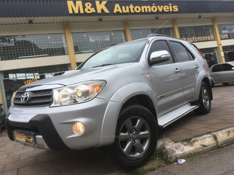 hilux sw4 3.0 srv 4x4 7 lugares 16v turbo intercooler diesel 4p automatico 2010 caxias do sul