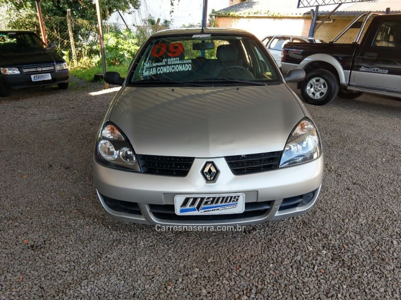 CLIO 1.0 CAMPUS 16V FLEX 4P MANUAL - 2009 - CANELA
