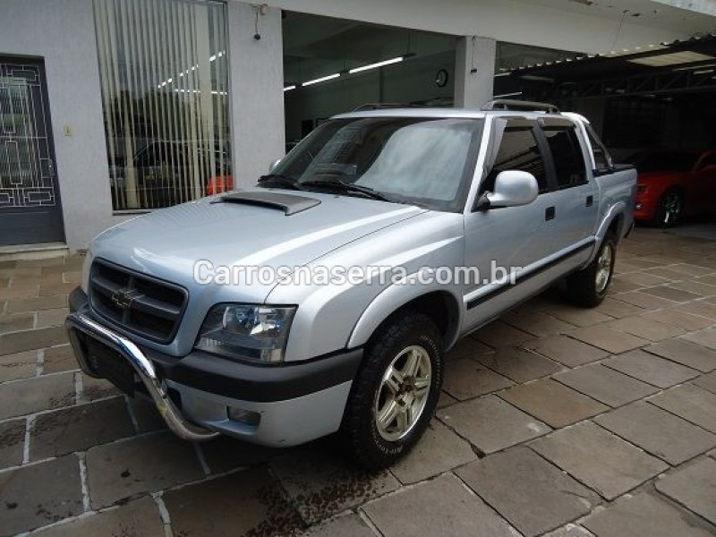 s10 2.8 executive 4x4 cd 12v turbo intercooler diesel 4p manual 2007 caxias do sul