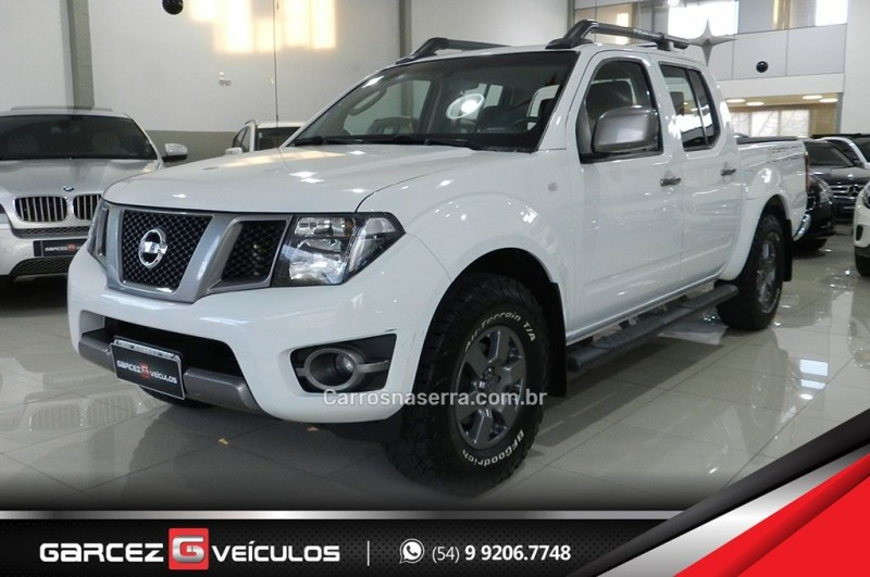 frontier 2.5 sv attack 4x4 cd turbo eletronic diesel 4p automatico 2016 bento goncalves