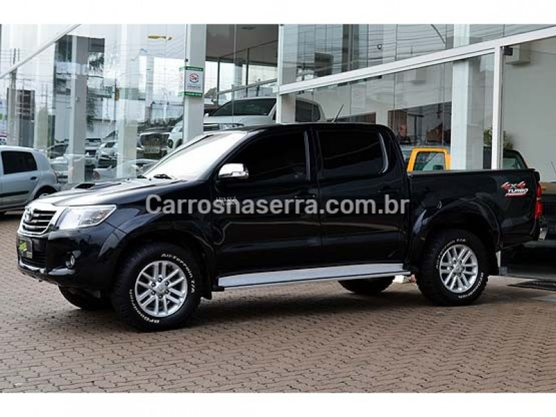hilux 3.0 srv top 4x4 cd 16v turbo intercooler diesel 4p automatico 2015 caxias do sul