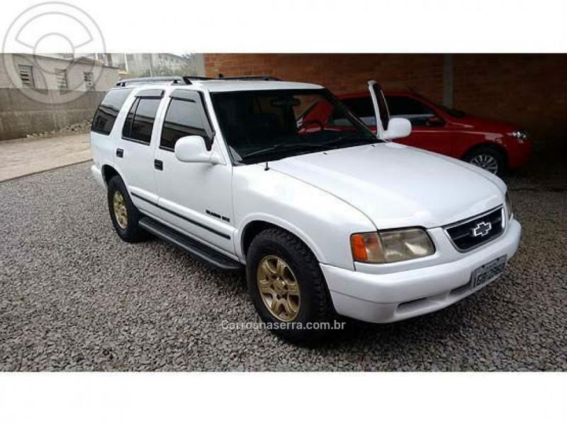 blazer 4.3 sfi dlx 4x4 v6 12v gasolina 4p manual 1997 guapore