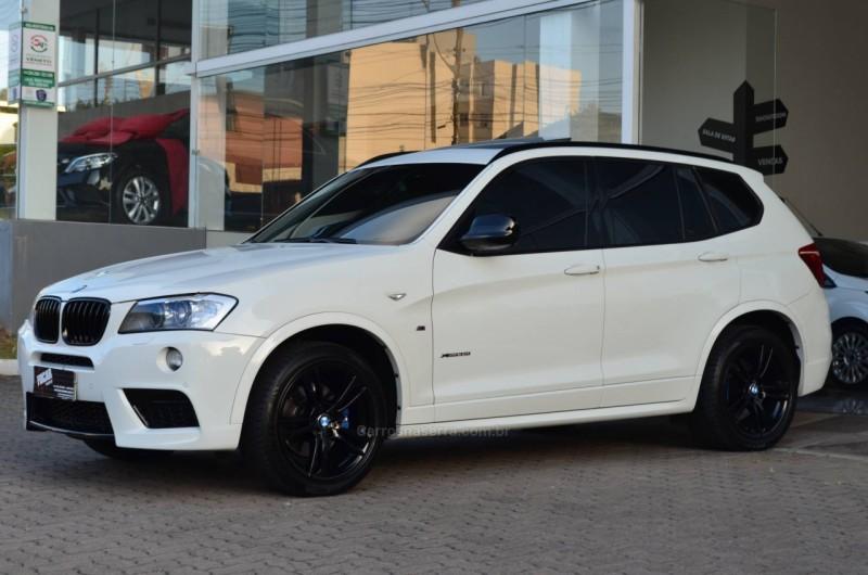 x3 3.0 35i m sport 4x4 24v gasolina 4p automatico 2013 caxias do sul