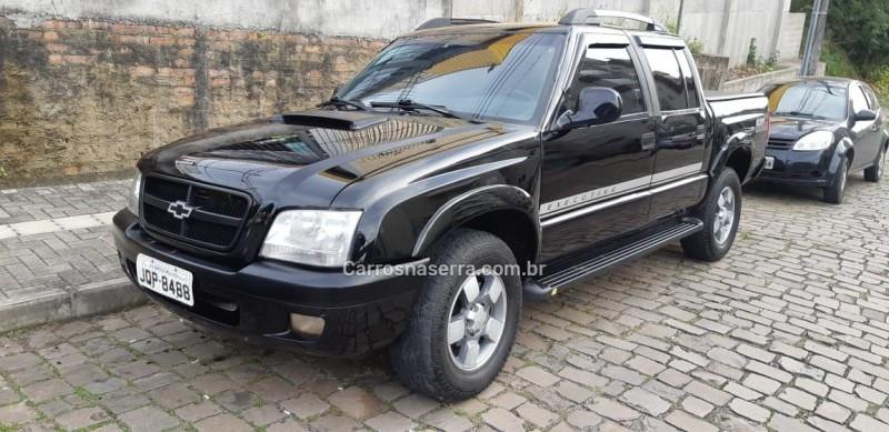 s10 2.8 executive 4x4 cd 12v turbo intercooler diesel 4p manual 2006 bento goncalves