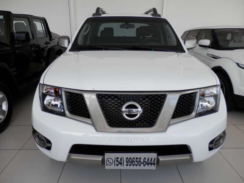 frontier 2.5 sv attack 4x4 cd turbo eletronic diesel 4p automatico 2016 erechim