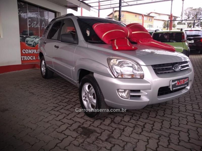 sportage 2.0 lx 4x2 16v gasolina 4p automatico 2008 caxias do sul