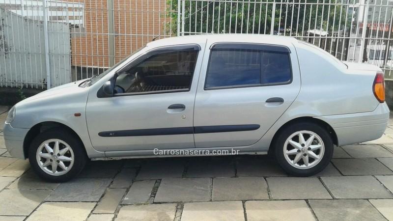 clio 1.6 rt sedan 16v gasolina 4p manual 2001 caxias do sul