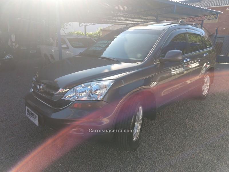 crv 2.0 exl 4x4 16v gasolina 4p automatico 2010 canela