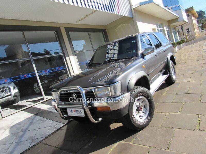 hilux sw4 2.8 4x4 8v diesel 4p manual 1995 guapore