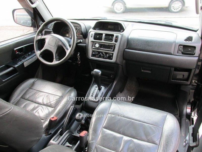 pajero tr4 2.0 4x4 16v 131cv gasolina 4p automatico 2003 bento goncalves