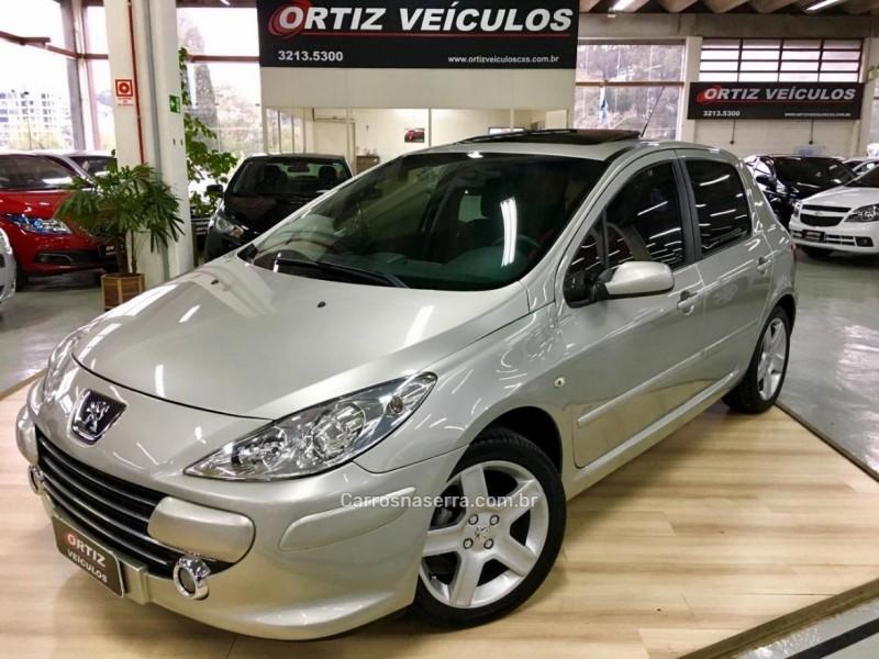 307 1.6 presence 16v gasolina 4p manual 2009 caxias do sul