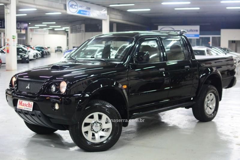 l200 2.5 sport hpe 4x4 cd 8v turbo intercooler diesel 4p automatico 2005 caxias do sul