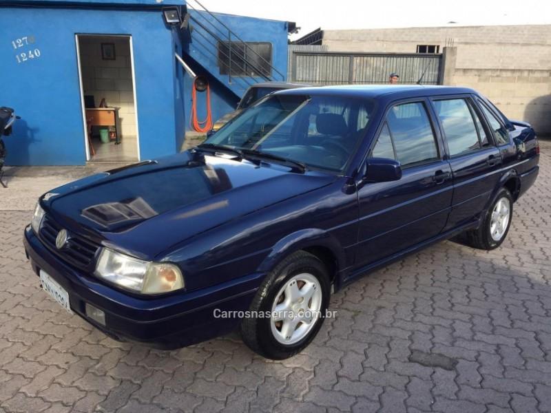 santana 2.0 mi evidence 8v gasolina 4p manual 1997 caxias do sul
