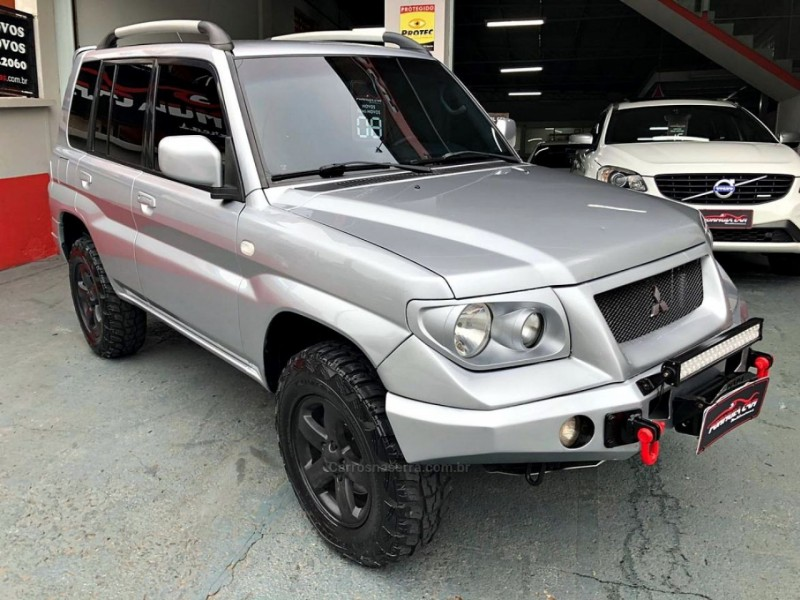 pajero tr4 2.0 4x4 16v 131cv gasolina 4p manual 2008 caxias do sul
