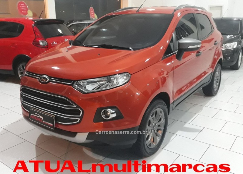 ecosport 1.6 freestyle 16v flex 4p manual 2015 garibaldi