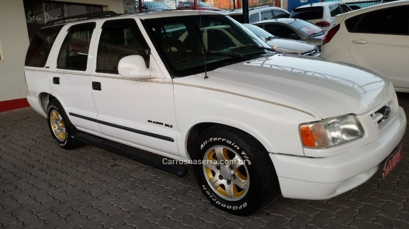 blazer 4.3 sfi dlx 4x2 v6 12v gasolina 4p manual 1996 caxias do sul
