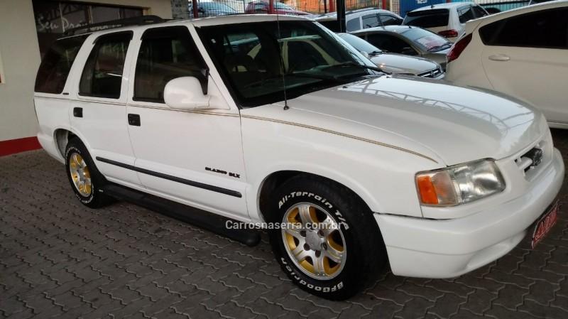 blazer 4.3 sfi dlx 4x2 v6 12v gasolina 4p manual 1996 caxias do sul
